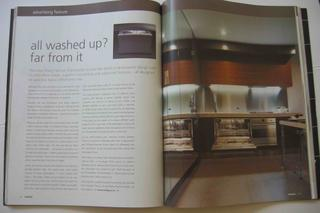 Smeg dishwasher advertorial
