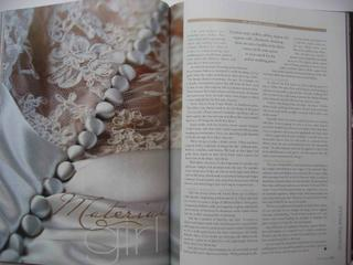 Bridal fabric feature