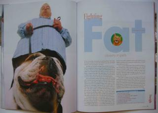 Pet obesity feature