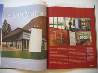 Beach house design feature