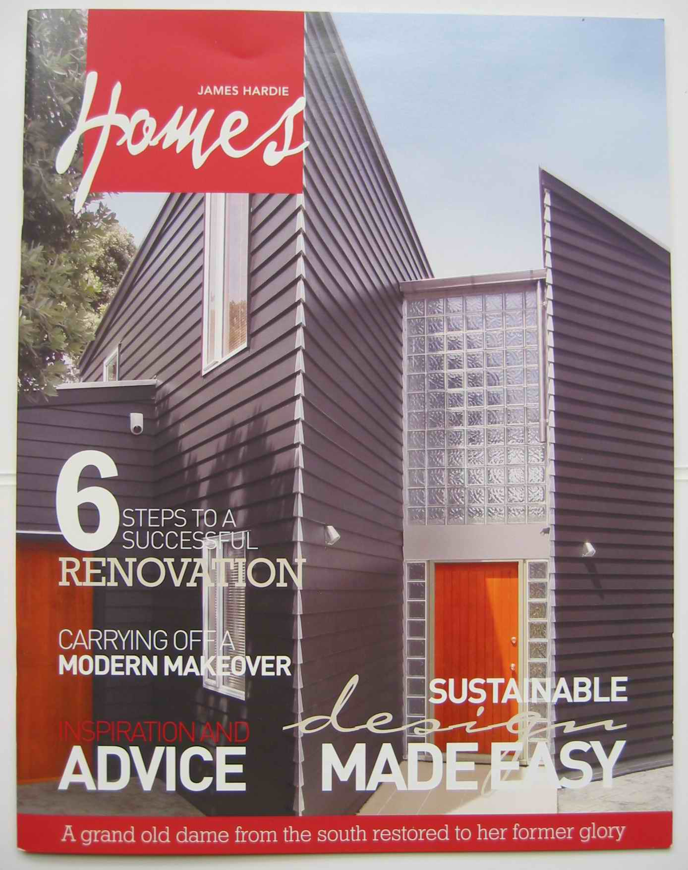 James Hardie consumer magazine